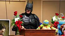 Batman pays tribute to six-year-old Jacob