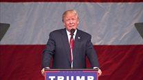 Trump courts the terminally ill vote