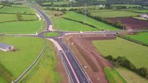 £35m Magherafelt road bypass from the air