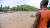 El pueblo de Haití que quedó dividido en dos tras el paso del huracán Matthew