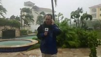 Hurricane chaser reports from Bahamas