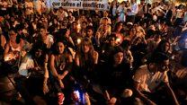 ကိုလံဘီယာမှာ ငြိမ်းချမ်းရေးသဘောတူညီမှုသစ်အတွက် ဆန္ဒပြ