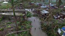 A bird's eye view of Haiti's devastation