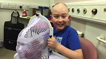 Boy, 12, in £100k cancer treatment fight