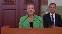 El momento en que la Fundación Nobel anunció a Juan Manuel Santos como ganador del Nobel de la Paz 2016