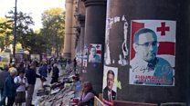 رقابت تنگاتنگ در انتخابات پارلمانی گرجستان