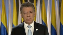 कोलंबिया के राष्ट्रपति को नोबेल पुरस्कार