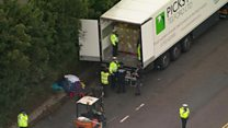 Migrant lorry find 'could have been terrible'