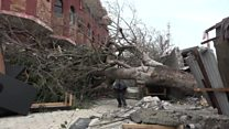 توفان متیو جان 900 نفر را گرفت