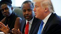 Carson backs Trump on Clinton 'investigation'