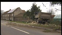 Crash victim rebuilds house after lorry smash
