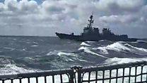 'حمله موشکی حوثیها به ناوشکن آمریکایی در دریای سرخ '