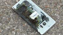 Samsung в кризисе из-за взрывающихся батарей