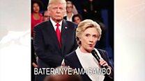 Ikiganiro hagati ya Donald Trump na Hillary Clinton