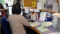 Your experiences of GPs' receptionists