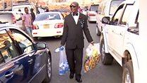 Conheça o vendedor de água mais elegante do mundo