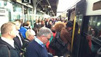 Passengers face three-day rail strike