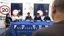 Speeding drivers face kids' court