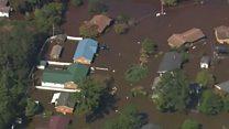 """Северная Каролина под водой из-за урагана """"Мэтью"""""""