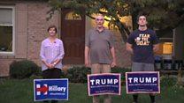 【米大統領選2016】どちらに入れるか 家族の間でも割れる