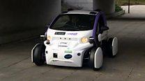 Driverless cars tested in Milton Keynes