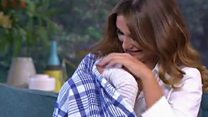Towie star breastfeeds on This Morning set