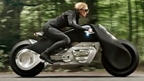 BMW wants motorbikers to ditch helmets