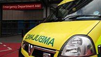 Council care cuts 'affecting A&E'