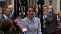 英キャサリン妃、初の単独外遊 欧州関係改善へ