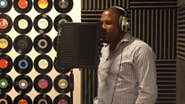 John Barnes raps for youth charity