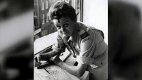 အမျိုးသမီး စစ်သတင်းထောက် အသက် ၁၀၅နှစ်ပြည့်