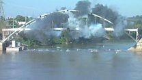 """El puente en EE.UU. de 93 años que se """"rehusó"""" a ser demolido"""