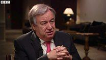 次の国連事務総長任命 シリア紛争終結が最優先課題