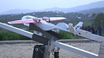Drone delivery begins in Africa