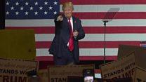 """""""Todas estas afirmaciones son inventadas"""": Donald Trump niega haberse comportado inapropiadamente con mujeres"""