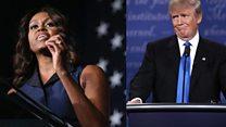 Michelle Obama s'en prend à Donald Trump