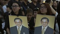 Ways Thais are mourning their king