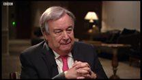 Новый генсек ООН: конец войны Сирии станет главной целью
