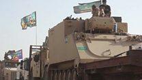صف آرایی ارتش عراق برای پس گرفتن موصل