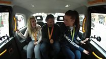 Rio medallists share success in cabshare