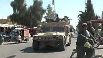 """عملیات """"پاکسازی"""" مرکز هلمند از نیروهای طالبان"""