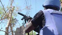 Haiti clashes over UN aid trucks