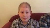 Family's 'joy' at raising £100,000 for brain tumour treatment