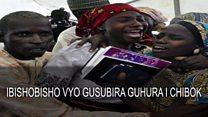 Bamwe mu bana banyurujwe Chibok basubiye iwabo
