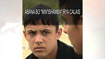 """Amajana y'abana badaherekejwe """"mw'ishamba"""" rya Calais"""