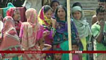 برما میں تشدد، فوجی کارروائی، نقل مکانی