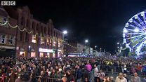 Thousands gather for Diwali lights switch-on