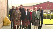 Prince Charles visits the Mòd