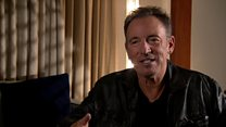 Springsteen on music, depression and Trump