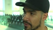 Olympian Louis Smith visits mosques